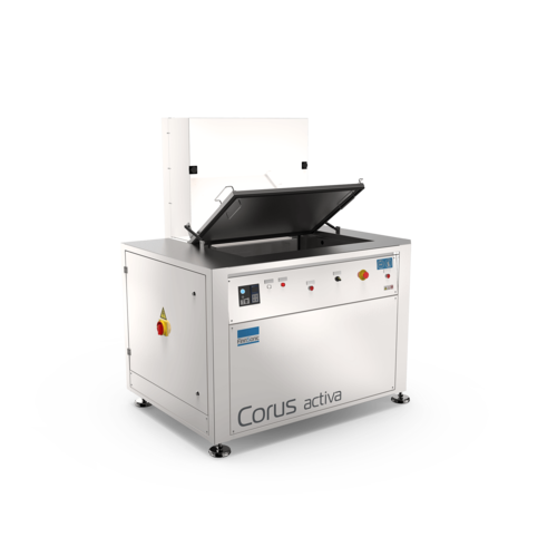 Ultraschallreinigungsanlage Corus Activa für die industrielle Reinigung von komplexen Teilen