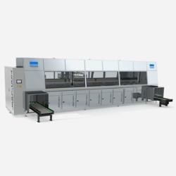 Ultraschallreinigungsanlage Versa Genius Plus von FinnSonic für die Fertigungsindustrie mit modularem Aufbau und Korbsystem