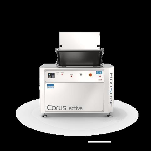 Ultraschallreinigungsanlage Corus Activa für die industrielle Reinigung für KFZ-Betriebe sowie die mechanische & verarbeitende Industrie
