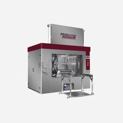 Toplader Clean-o-Mat Rhönrad von PERKUTE für die vielseitige Reinigung von großen und komplexen Bauteilen in der industriellen Teilereinigung