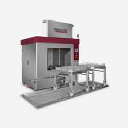Frontlader Clean-o-mat PF von PERKUTE für die kraftvolle Reinigung  in der industriellen Teilereinigung.