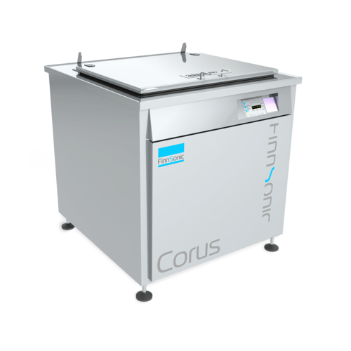 Ultraschallreinigungsanlage Corus von FinnSonic für die industrielle Teilereinigung