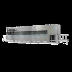 FinnSonic Optima Ultraschallreinigungslage für Spritzreinigung mit verschiedenen Modulen für hohe Kapazitäten und schwere Teile